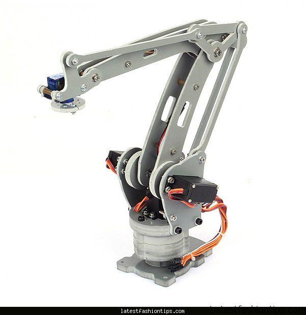 Diy 6 axis robot arm
