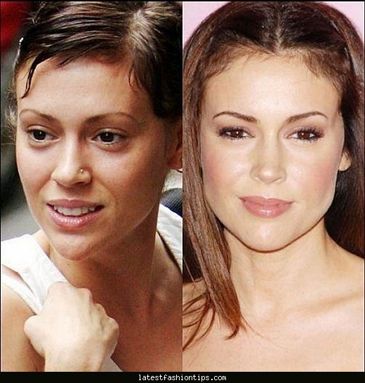 female-celebrities-without-makeup-makeup-blog ...