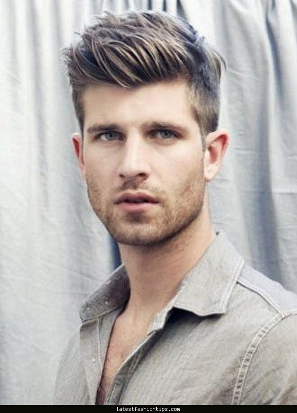 Men's Hair Styling Tips Newlateststylishmencuthairstyle20158U2013Hairstylestips .