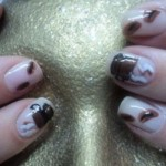 10 Caffeinated Coffee Nail Art Designs-3