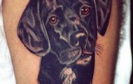 12 Black Lab Tattoo Designs-0