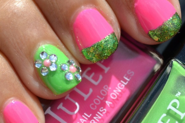 14 cute and easy flower nail designs latestfashiontipscom