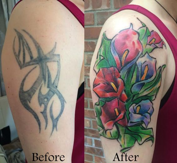 14 smashing tattoo cover ups for women latestfashiontips for Tribal tattoos for cover up