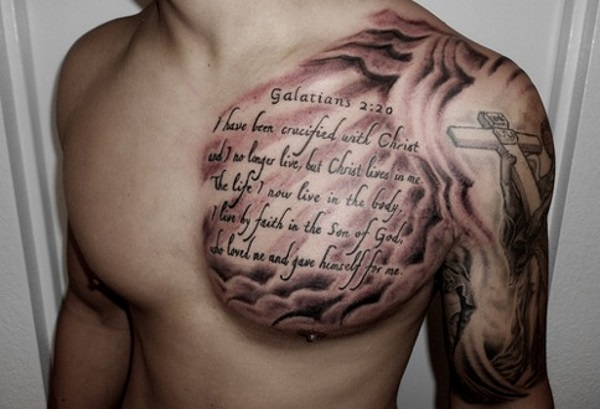 20 Cool and Creative Quote Tattoos on Guys-4