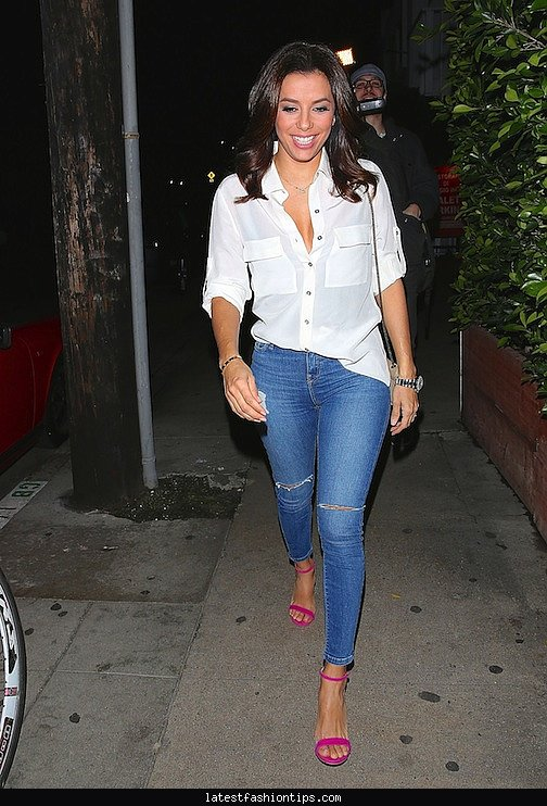 Fashion Style Eva Longoria Latestfashiontips Com