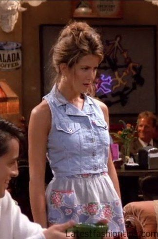 The One With Her Favorite Go-To Look: The Denim Vest