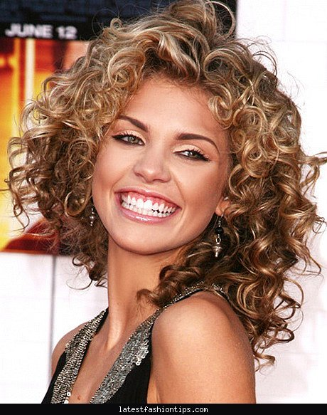 Peachy Haircuts For Thick Curly Hair Latest Fashion Tips Hairstyles For Women Draintrainus