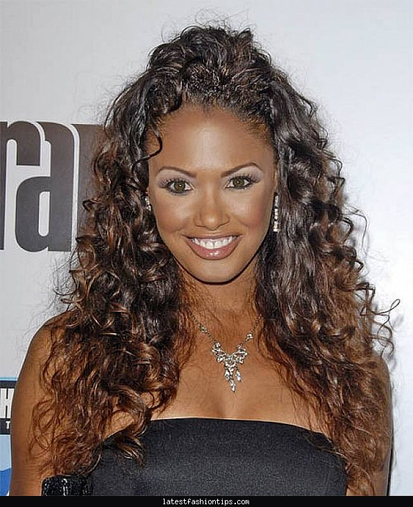 Curly hairstyles updos easy - LatestFashionTips.com ®