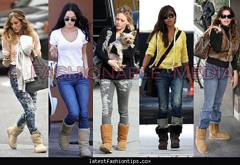 What boots are in fashion 74