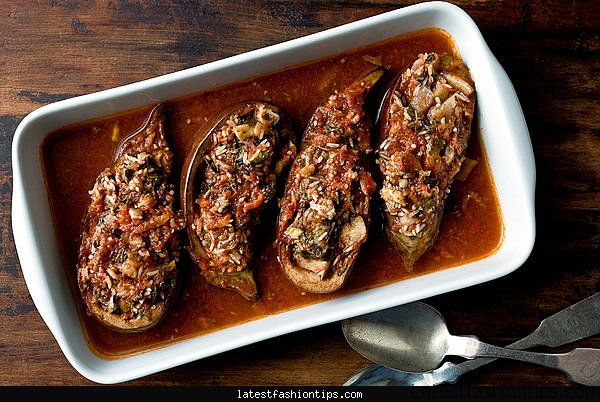 eggplant-stuffed-with-rice-and-tomatoes-recipe-nyt-cooking