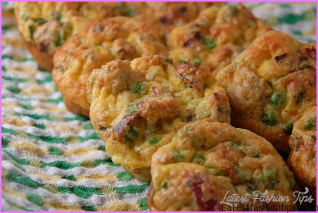 Savory bread pudding muffin « The Spice Route