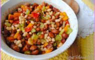 Two Bean Casserole: An Easy 30 Minute Meal