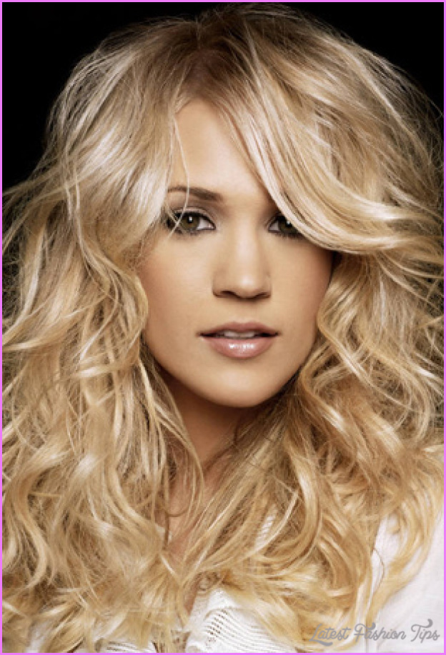 Haircuts For Long Fine Curly Hair Latestfashiontips Com