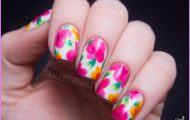 Nail art hawaiian flowers_2.jpg