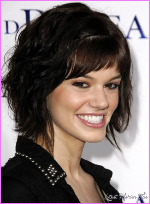 Short Haircuts Thick Curly Hair Latestfashiontips