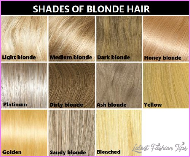 Blonde Hair Color Shades Chart Latestfashiontips Com