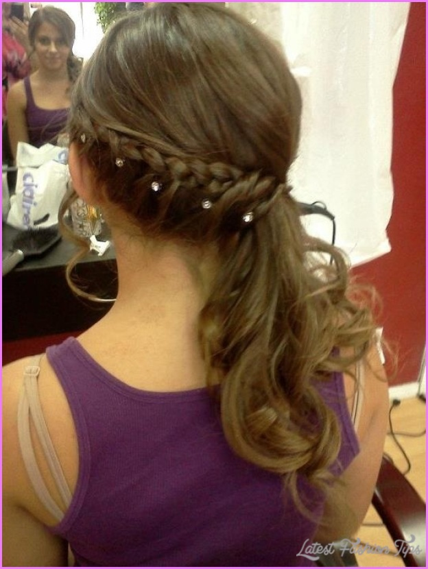 Cute Easy Hairstyles For School Dances : Cute hairstyles for school dances latest fashion tips