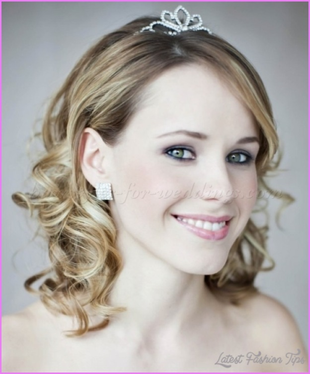Shoulder Length Hairstyles For Weddings