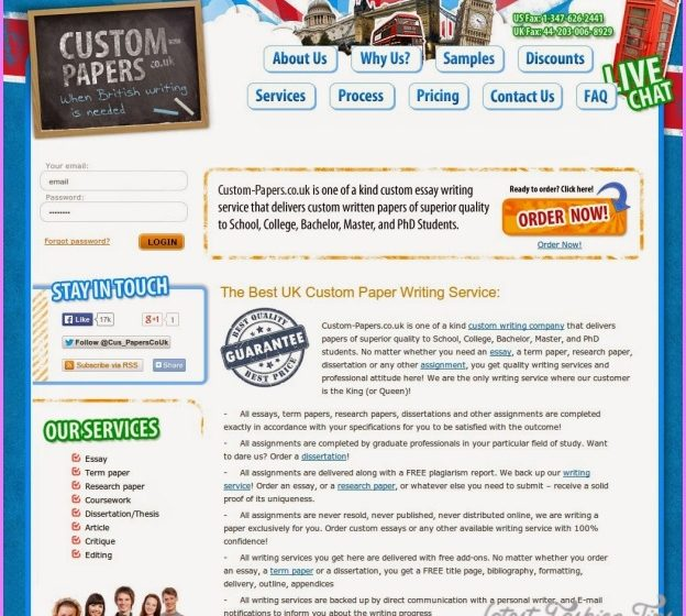 Writing essay websites
