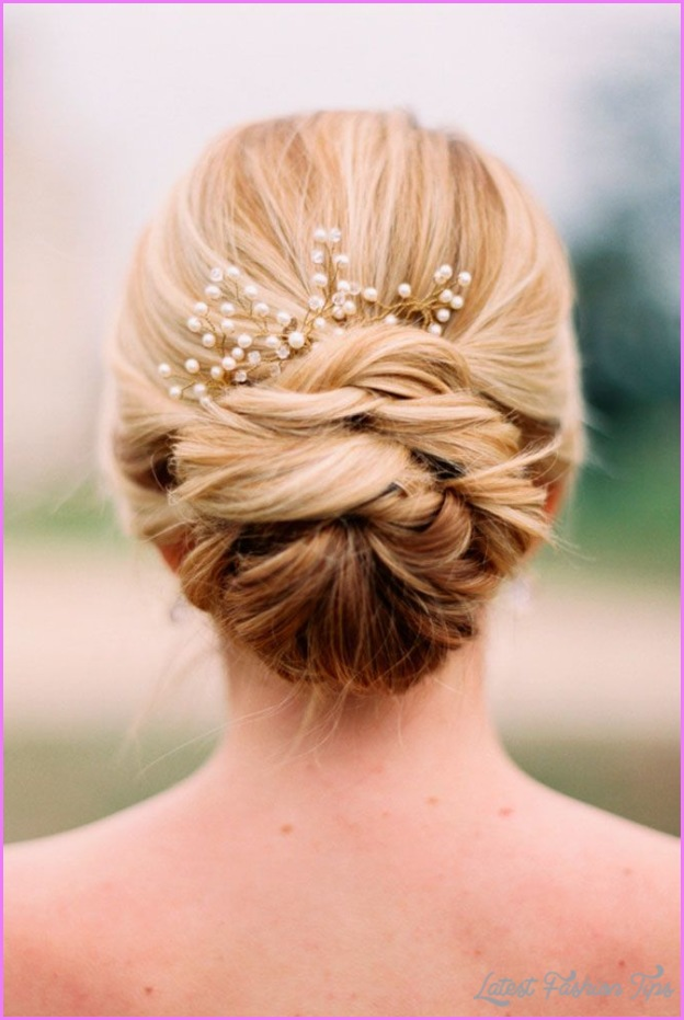 new hair updo styles wedding updo hairstyles for medium length hair 4986