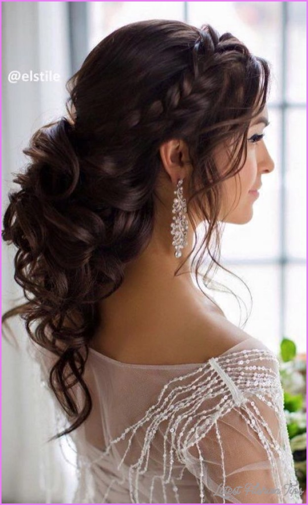 bridal hairstyles half up half down latest fashion tips