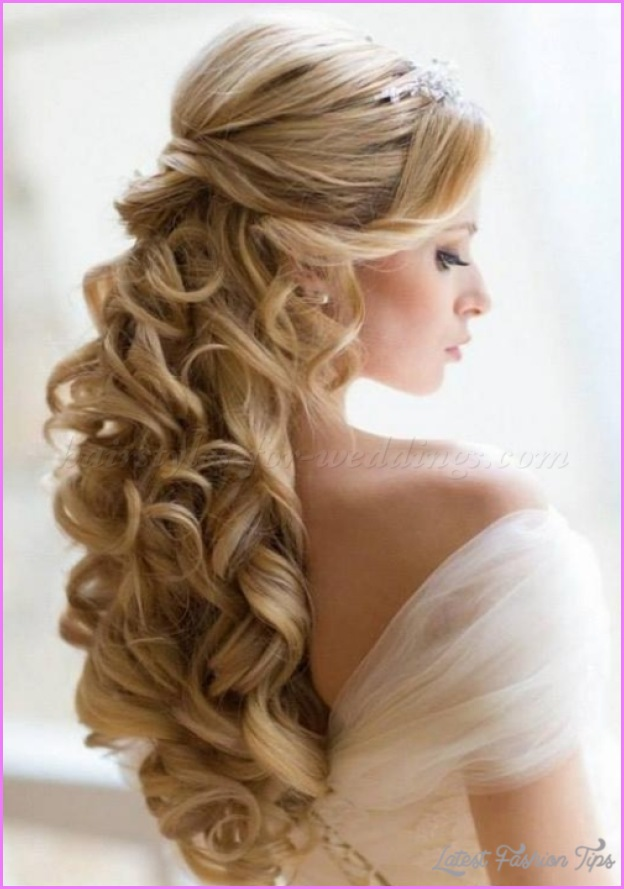 half up half hair styles hairstyles half up half latestfashiontips 3548