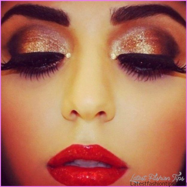 Makeup Ideas With Red Lips _1.jpg