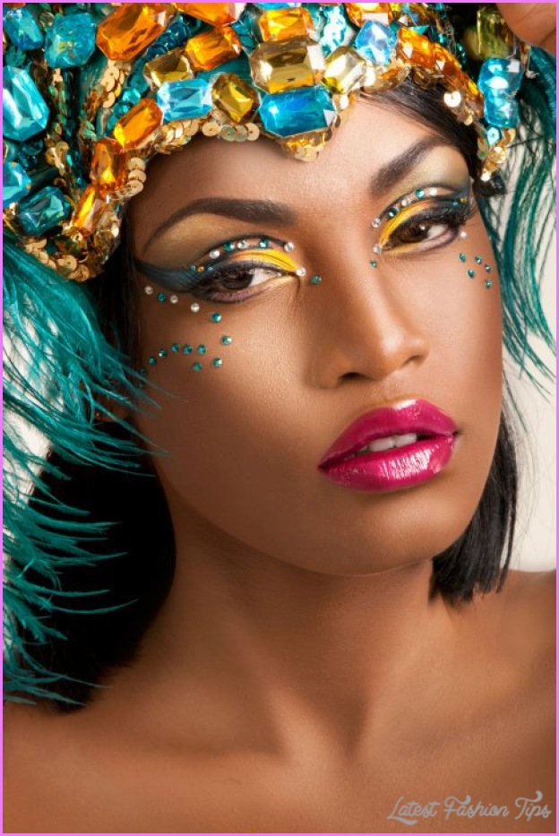 How to Do Carnival Makeup
