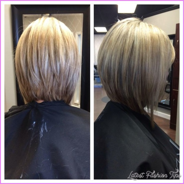 Back View Of Inverted Bob Haircut - LatestFashionTips.com