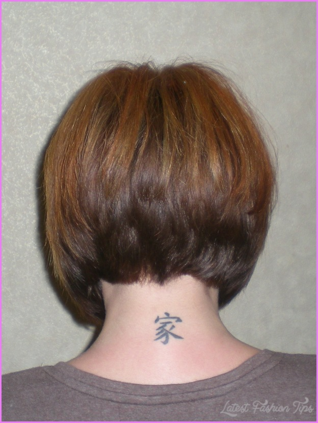 back view of inverted bob haircut latestfashiontipscom