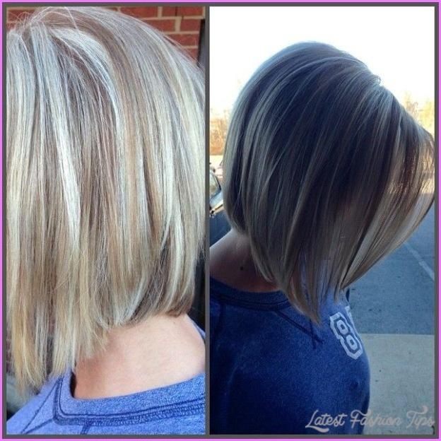 Back View Of Inverted Bob Haircut Latestfashiontips Com