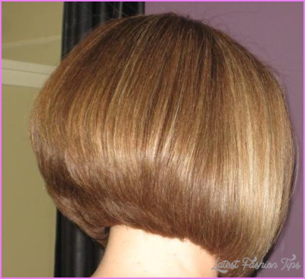 Back View Of Inverted Bob Haircut Latestfashiontips Com