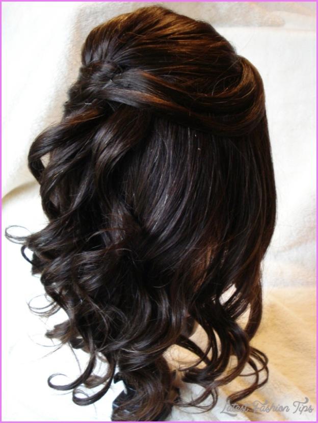 Half up half down hairstyles medium length hair with braid