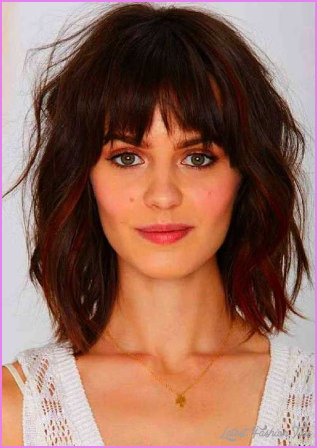 Haircut Styles For Thick Wavy Hair Latestfashiontips