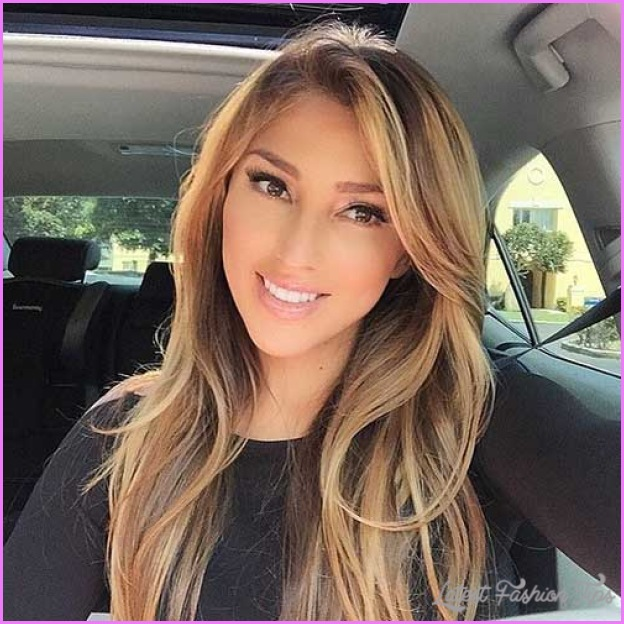 Haircuts For Long Hair With Side Swept Bangs
