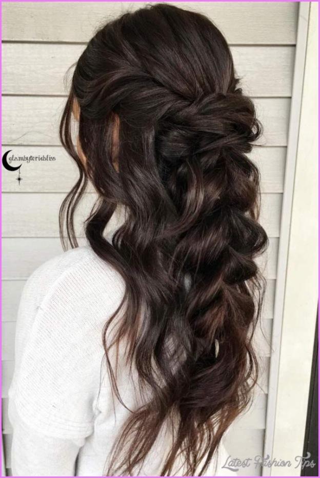 Half Updo Hairstyles For Weddings Latestfashiontips Com