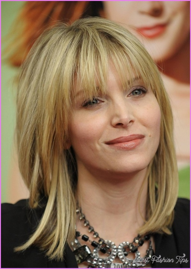 Layered Haircuts For Medium Hair With Side Bangs 2