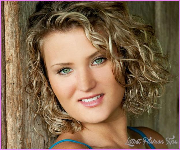 Hairstyles For Thin Curly Hair: Medium Haircuts For Thin Curly Hair