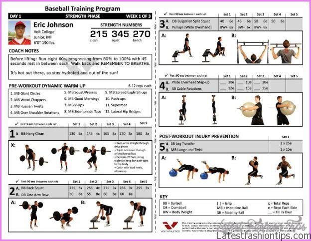 athletic body workout plan pdf