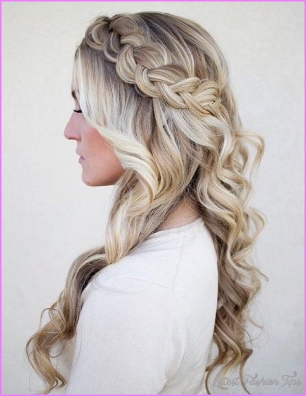Semi Formal Hairstyles For Long Hair Latestfashiontips Com