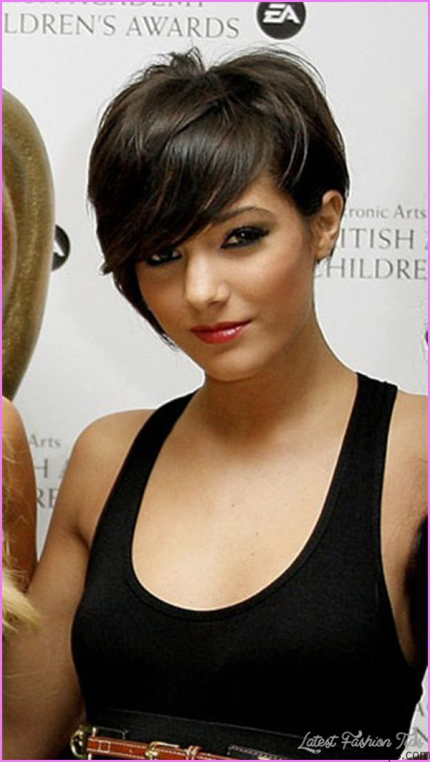 Asymmetrical Haircut For Round Face Archives Latestfashiontips