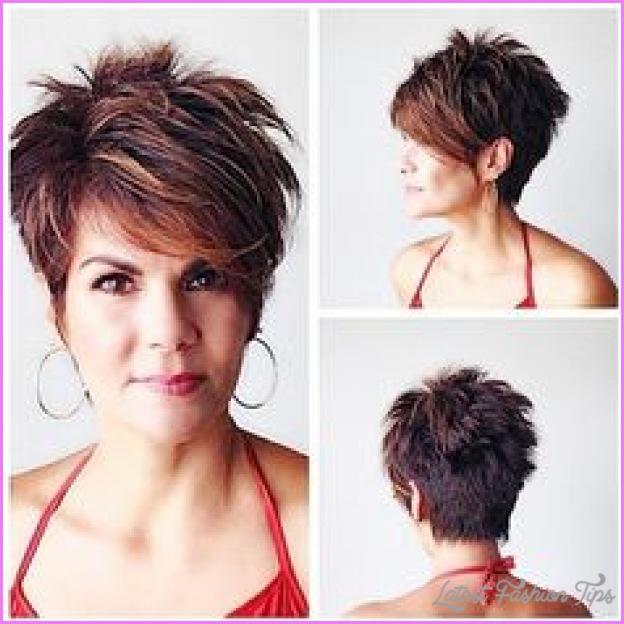 Short Choppy Haircuts For Women Over Latestfashiontips Com