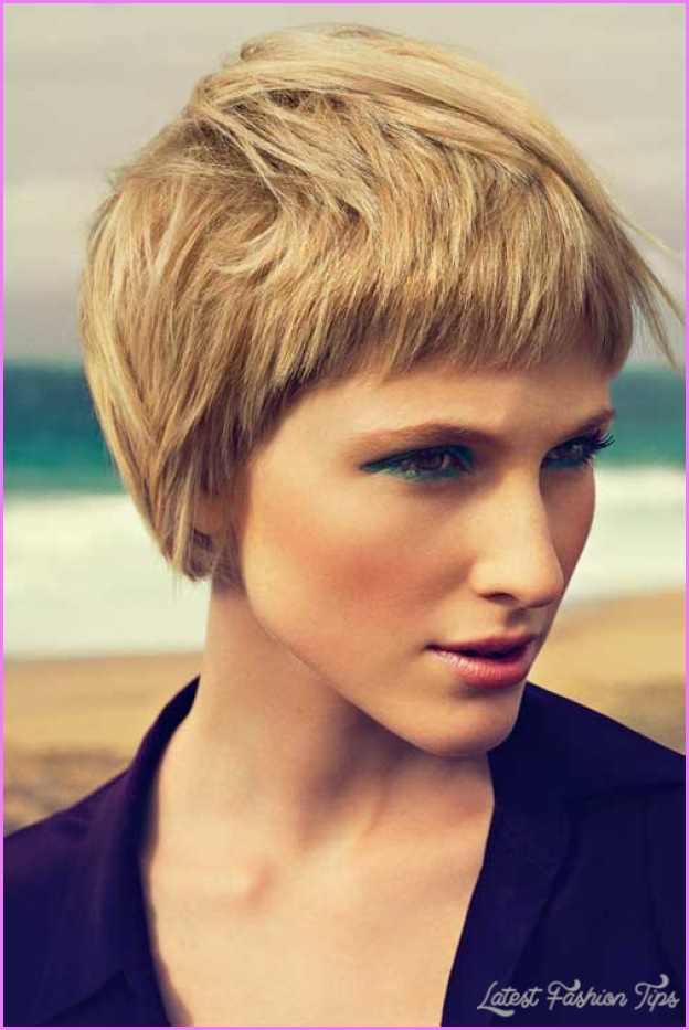 Short Haircuts For Women With Thick Hair ...