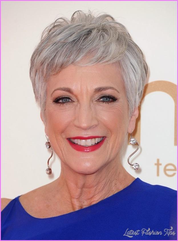 Stylish Short Hairstyles For Older Women