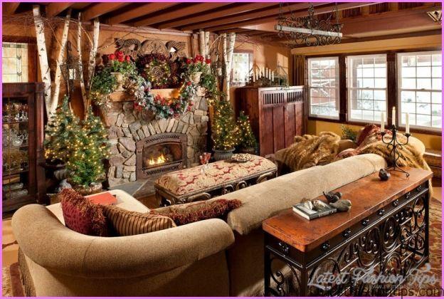 10 log home christmas decorating ideas latest fashion tips