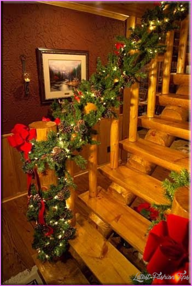 10 log home christmas decorating ideas - Log decor ideas let the nature in ...