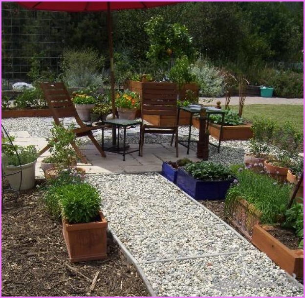 New Home Designs Latest Beautiful Gardens Designs Ideas: 10 Small Gravel Garden Design Ideas
