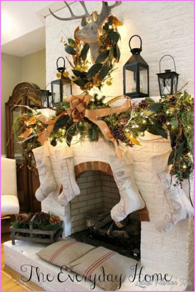 10 Country Christmas Decorating Ideas Home