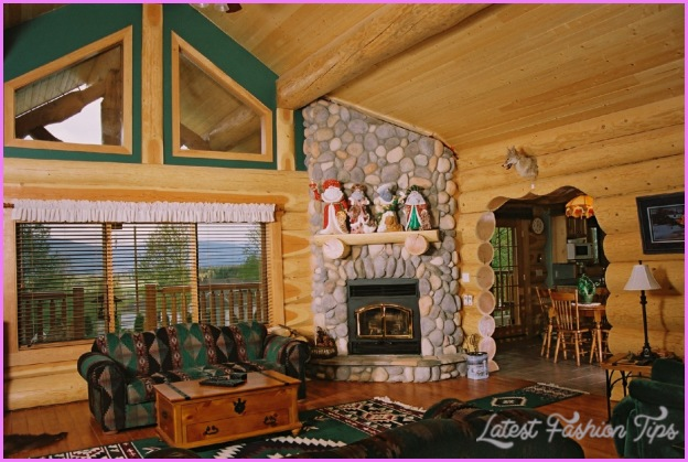 Christmas Decorating Ideas For Log Homes All Ideas About