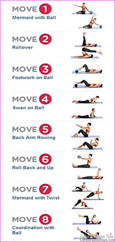 Pilates Exercise Routine